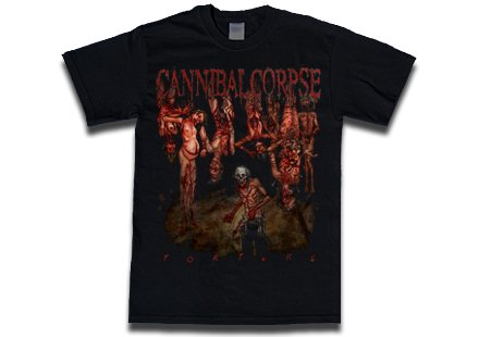 【お取寄せ】Cannibal Corpse / カンニバル・コープス - Torture. Tシャツ
