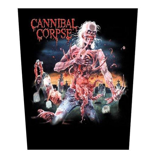 【お取寄せ】Cannibal Corpse / カンニバル・コープス - Eaten Back To Life. バックパッチ