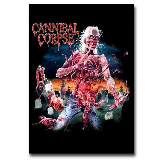 【お取寄せ】Cannibal Corpse / カンニバル・コープス - Eaten Back To Life. フラッグ