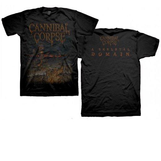 【お取寄せ】Cannibal Corpse / カンニバル・コープス - Skeletal Domain Cover. Tシャツ