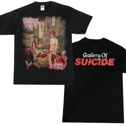 【お取寄せ】Cannibal Corpse / カンニバル・コープス - Gallery Of Suicide. Tシャツ