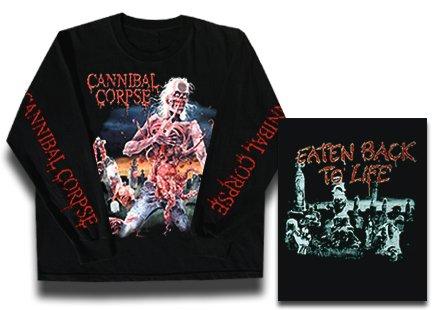 【お取寄せ】Cannibal Corpse / カンニバル・コープス - Eaten Back To Life. ロングスリーブTシャツ