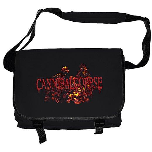 【お取寄せ】Cannibal Corpse / カンニバル・コープス - Pile Of Skulls. メッセンジャーバッグ