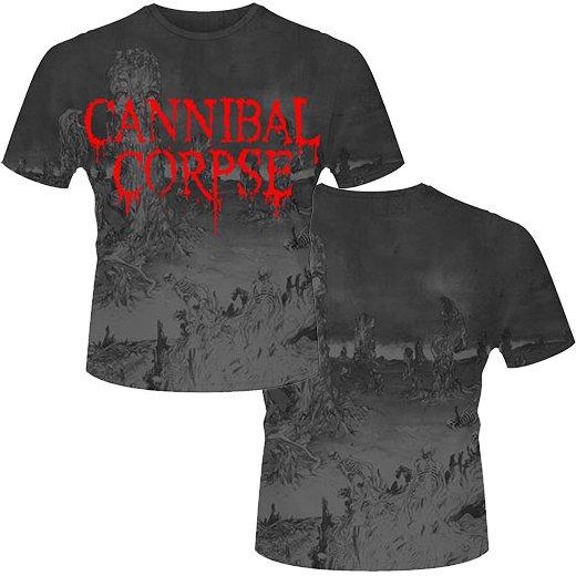 【お取寄せ】Cannibal Corpse / カンニバル・コープス - A Skeletal Domain (All-Over Print). Tシャツ