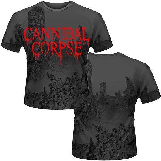 【お取寄せ】Cannibal Corpse / カンニバル・コープス - A Skeletal Domain 2 (All-Over Print). Tシャツ