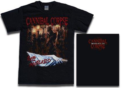 【お取寄せ】Cannibal Corpse / カンニバル・コープス - Tomb Of The Mutilated. Tシャツ