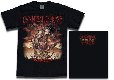 【お取寄せ】Cannibal Corpse / カンニバル・コープス - Bloodthirst. Tシャツ