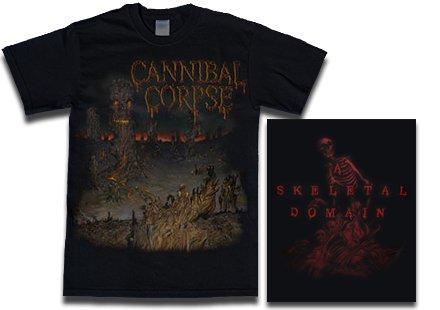 【お取寄せ】Cannibal Corpse / カンニバル・コープス - A Skeletal Domain 1. Tシャツ