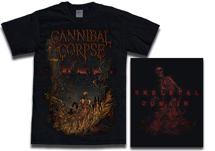 【お取寄せ】Cannibal Corpse / カンニバル・コープス - A Skeletal Domain 2. Tシャツ