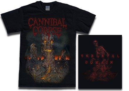 【お取寄せ】Cannibal Corpse / カンニバル・コープス - A Skeletal Domain 3. Tシャツ