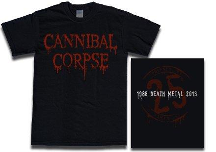 【お取寄せ】Cannibal Corpse / カンニバル・コープス - 25 Years. Tシャツ