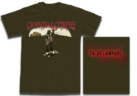 【お取寄せ】Cannibal Corpse / カンニバル・コープス - To Decompose.... Tシャツ
