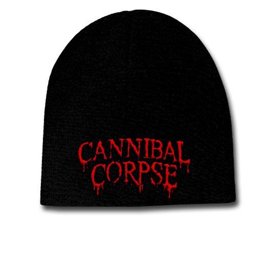 【お取寄せ】Cannibal Corpse / カンニバル・コープス - Logo. ニットキャップ