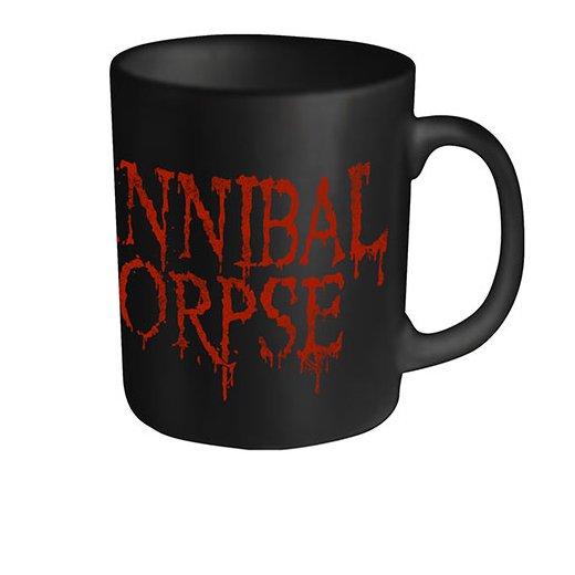 【お取寄せ】Cannibal Corpse / カンニバル・コープス - Dripping Logo. マグカップ