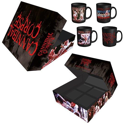 【お取寄せ】Cannibal Corpse / カンニバル・コープス - Collector's Edition 4 Mug Box Set. マグカップ
