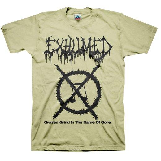 【お取寄せ】Exhumed / イグジュームド - Carcass Grinder (Sand). Tシャツ