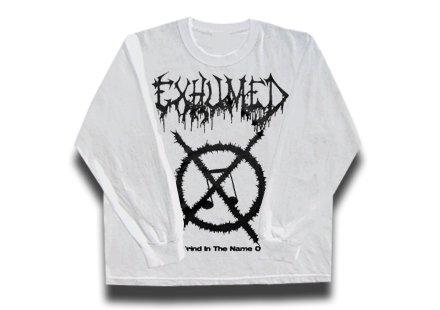 【お取寄せ】Exhumed / イグジュームド - Grind Symbol.  ロングスリーブTシャツ