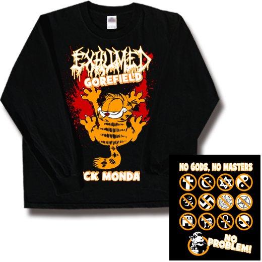 【お取寄せ】Exhumed / イグジュームド - Gorefield. ロングスリーブTシャツ