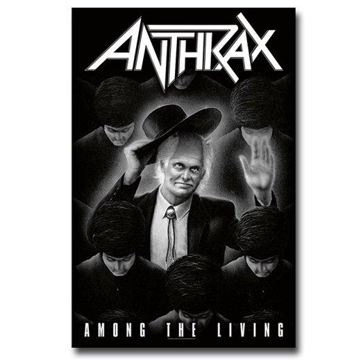 Anthrax / アンスラックス - Among The Living. フラッグ【お取寄せ】