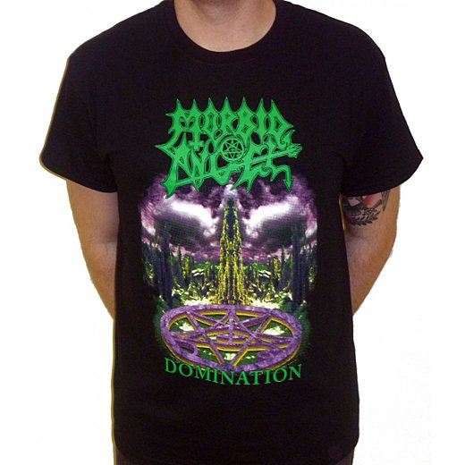 Morbid Angel / モービッド・エンジェル - Domination. Tシャツ【お取寄せ】