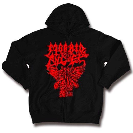 Morbid Angel / モービッド・エンジェル - Hungry Satan. ジップアップパーカー【お取寄せ】