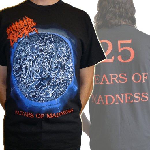Morbid Angel / モービッド・エンジェル - Altars Of Madness 25th Anniversary. Tシャツ【お取寄せ】