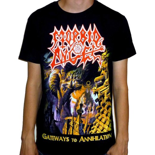 Morbid Angel / モービッド・エンジェル - Gateways To Annihilation. Tシャツ【お取寄せ】