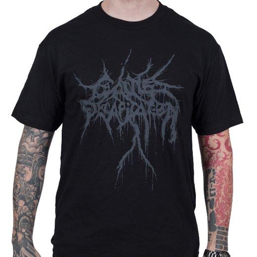 Cattle Decapitation / キャトル・ディキャピテイション - Black On Black. Tシャツ【お取寄せ】