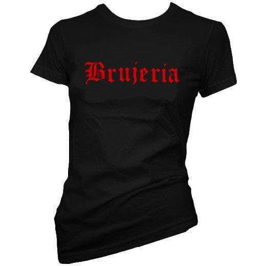 Brujeria / ブルへリア - Logo. レディースTシャツ【お取寄せ】