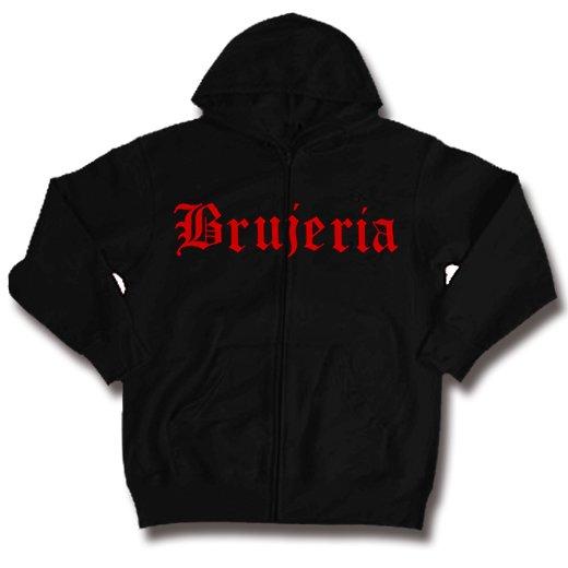 Brujeria / ブルへリア - Logo. ジップアップパーカー【お取寄せ】
