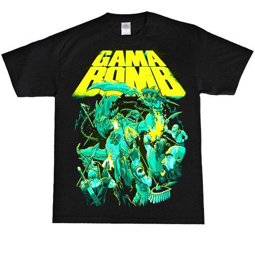 【お取寄せ】Gama Bomb / ガマ・ボム - Atlantis. Tシャツ