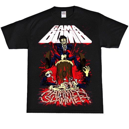 【お取寄せ】Gama Bomb / ガマ・ボム - Hammer Slammer. Tシャツ