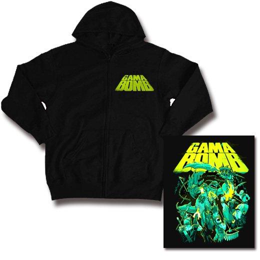 【お取寄せ】Gama Bomb / ガマ・ボム - Atlantis. ジップアップパーカー