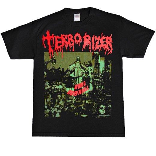 Terrorizer / テロライザー - World Downfall. Tシャツ【お取寄せ】
