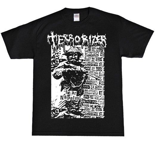 Terrorizer / テロライザー - Fear Napalm. Tシャツ【お取寄せ】
