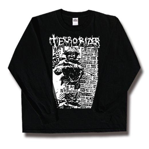 Terrorizer / テロライザー - Fear Napalm. ロングスリーブTシャツ【お取寄せ】