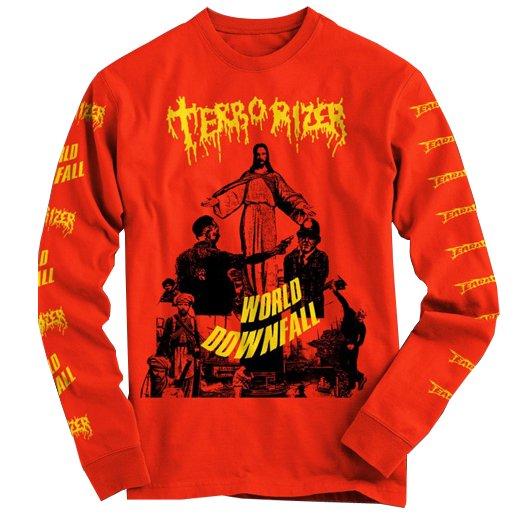 Terrorizer / テロライザー - World Downfall. ロングスリーブTシャツ【お取寄せ】