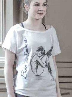 Miss Ellie レディース  Tシャツ [バレリーナ:B]