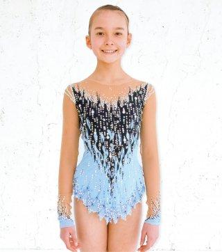 150-160cm [ロシア製] 新体操シニア競技用レオタード