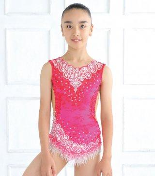 143-153cm [ロシア製] 新体操ジュニア競技用レオタード