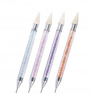 【シリコンペン】ストーンキャッチペン クリスタルが簡単にくっ付く!! コスチューム 衣装製作