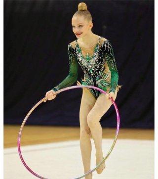 155-165cm [ロシア製新品] 新体操シニア競技用レオタード