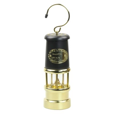 JDバーフォード マイナーズランプ Mサイズ / ブラック&ブラス #97