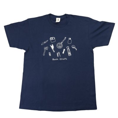 プリント半袖Tシャツ(道具)