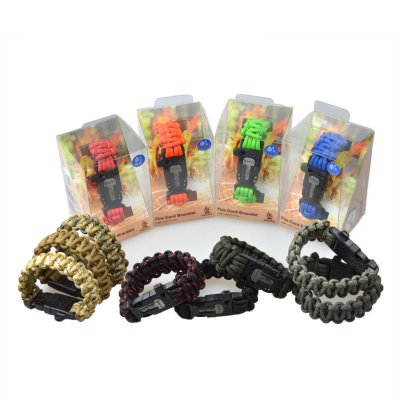 ファイヤーコードブレスレット (Fire Cord Bracelet)