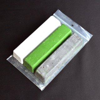 BarkRiver 固体コンパウンド 3色ホワイト&ブラック&グリーンセット
