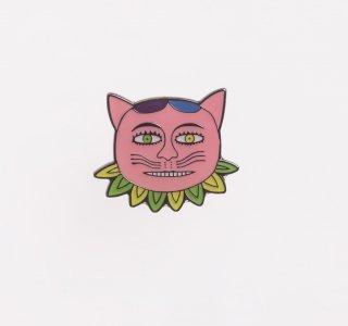 横尾忠則 アートピンバッジ 猫