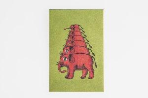 横尾忠則アートぽち袋(象)3個入り