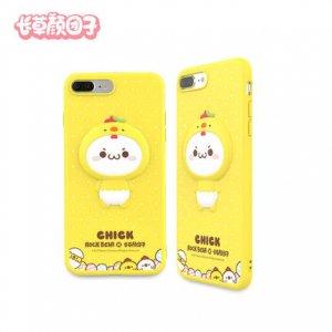 長草くん スマホカバー iPhone7 / iPhone7plus(ニワトリver)