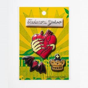 横尾忠則 福福(ぷくぷく)ステッカー Heart